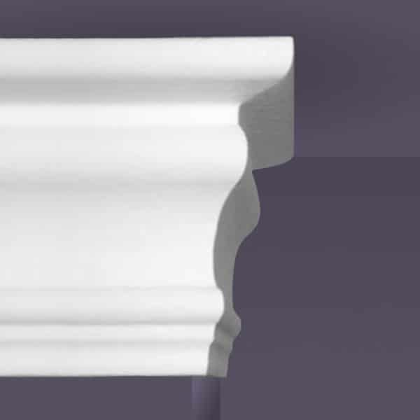 Style 4 | Flat Back | Foam Crown Molding