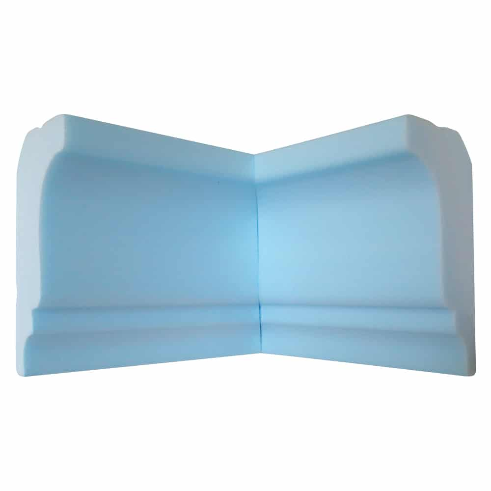 "Style Two 4 1/2"" Flat Back 