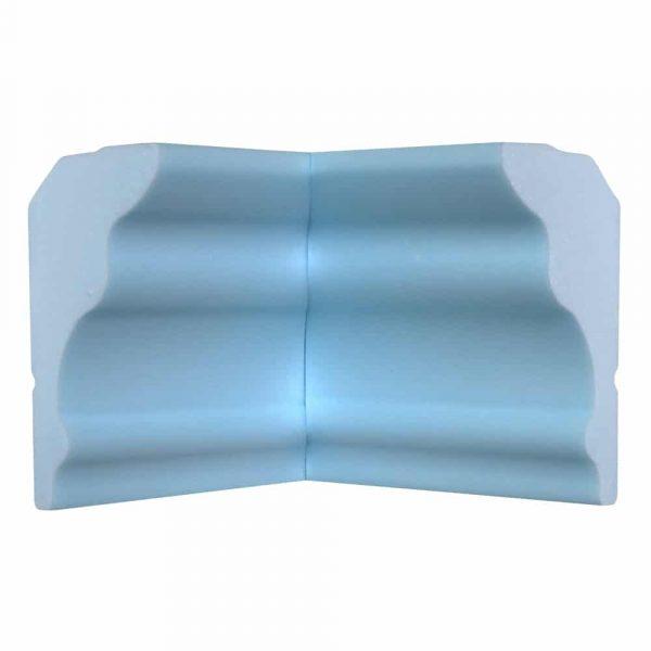 Style Five Flat Back | Inside Corner | Foam Crown Molding