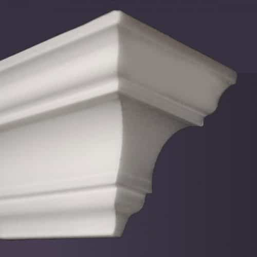 Style NM10 | Dead End Squared, Right | Foam Molding | Foam Crown Molding