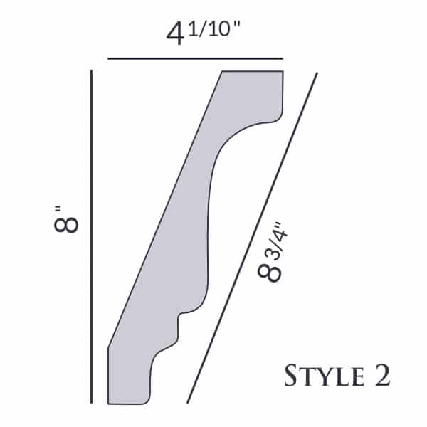 Style 2 | 8"