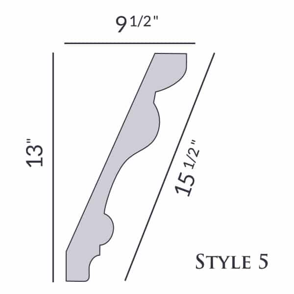 Style 5 | 13"