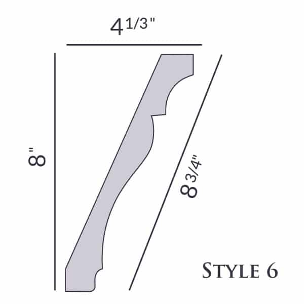 Style 6 | 8"