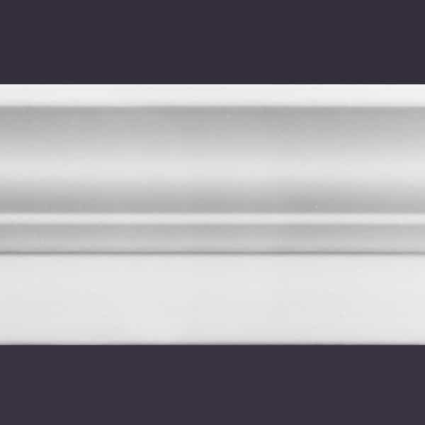 Style B | 4 or 8 Ft Length Foam Crown Molding